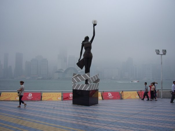 Avenue of the Stars, Hong Kong, 2008