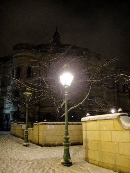 McEwen Hall in the snow, Edinburgh 2010