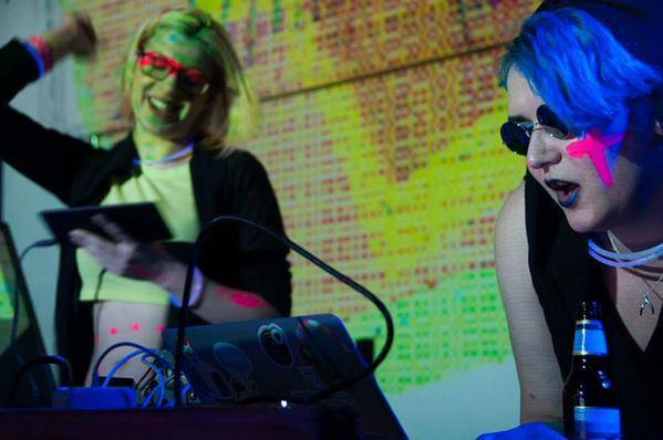 DJ set at Wild Rumpus, Game Developers Conference 2014. Picture by Emi Spicer
